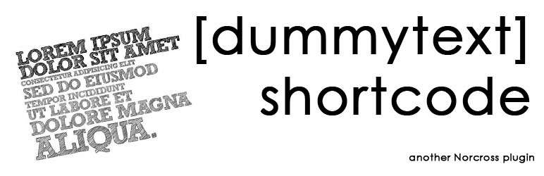 Dummy Text Shortcode