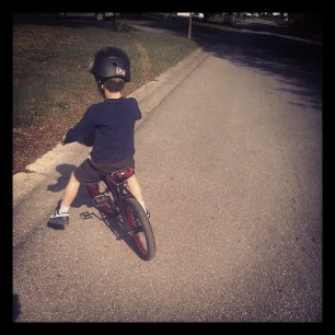 no training wheels LIKE A BOSS