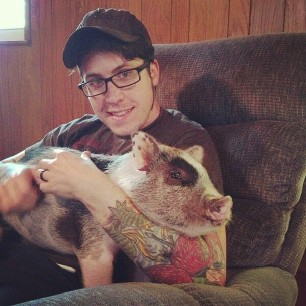 I have a lap pig. I am a guy who has a lap pig