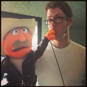 me and Muppet Burt #bestgiftever