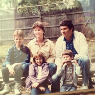 found an old family picture at my parent. MEMBERS ONLY JACKET FTW