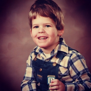 been rocking the plaid since the beginning #tbt