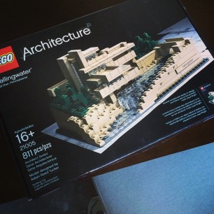 finally sitting down to build this little LEGO masterpiece.