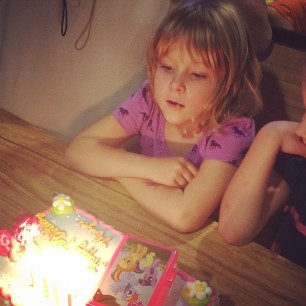 she's 7 now. not sure exactly what's next.