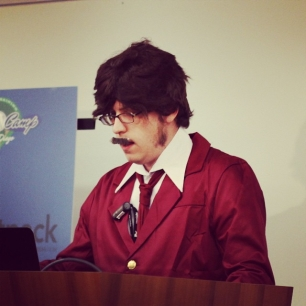 remember that time I gave a professional development talk dressed as Ron Burgundy? I love my life.