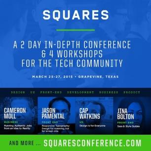 Win a FREE Pass to SquaresConf! Ends Friday evening http://squaresconference.com/gotosquares  #GoToSquares #Squares2015