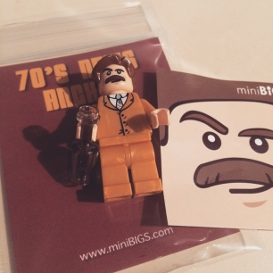yes, I bought a Ron Burgundy LEGO minifig.
