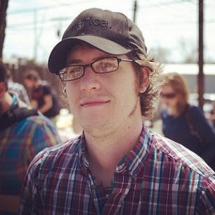 SXSW 2010 when I first met markjaquith (and he took the pic)