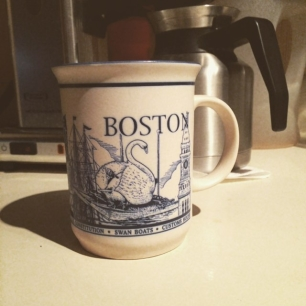 thanks again to the mega talented and all around swell human being robynkanner for the new mug!