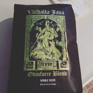 so blevins__ just sent me the most METAL COFFEE I'VE EVER SEEN.