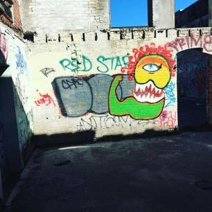 sneaky graffiti