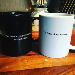 some new additions to my ever-expanding mug collection