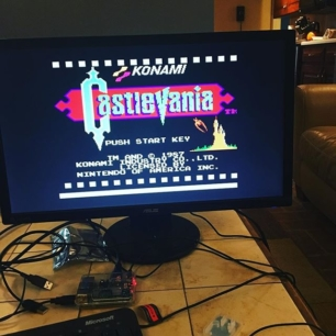 just playing Castlevania on my RetroPie. nbd.