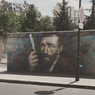 some legit Paris street art