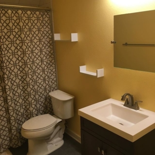 holy shit, I have a bathroom.