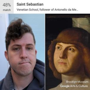 I am rather saintly